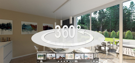 360Grad Panorama-Rundgang - 3D Visualisierung - mediensegel.de